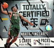 2014/15 Panini Totally Certified Basketball Hobby Box