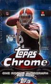 2014 Topps Chrome Football - Hobby Box