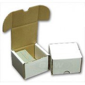 200ct Cardboard Storage Box 50ct Bundle