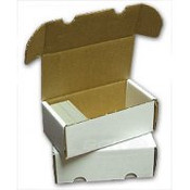 400ct Cardboard Storage Box 50ct Bundle