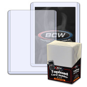 BCW 3x4 x 1.5mm Thick Card Topload Holder - 59 pt 40 Pack Case