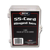 BCW Hinged Trading Card Box - 55 Count 100 Pack Case
