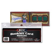 BCW Booklett Card Sleeves 100/50ct. Case