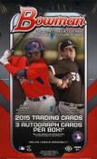 2015 Bowman Baseball HTA Jumbo Hobby Box