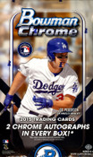 2015 Bowman Chrome Baseball Hobby Box