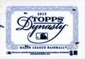 2015 Topps Dynasty Baseball Hobby Box