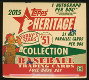 2015 Topps Heritage '51 Collection Baseball Hobby Set