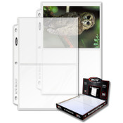 BCW Pro 2 Pocket Page (100ct) Box