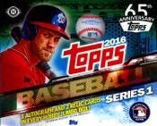2016 Topps Series 1 Baseball HTA Jumbo Hobby Box