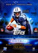 2015 Topps Field Access Football Hobby Box
