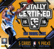 2015/16 Panini Totally Certified Basketball Hobby Box