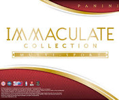 2015 Panini Immaculate College Multi Sport Hobby Box