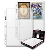 BCW Pro 4 Pocket Page (100ct) Box