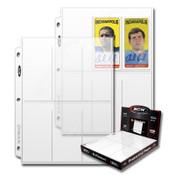 BCW Pro 6 Pocket Page (100ct) Box