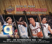 2014/15 Upper Deck March Madness Basketball Hobby Box