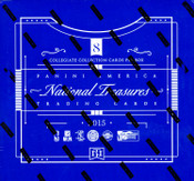 2015 Panini National Treasures Multi Sport Hobby Box