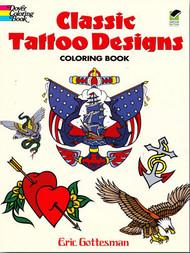 Classic Tattoo Designs Coloring Book
