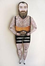 Sir Kyle Paper Puppet