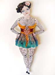 Miss Luna Paper Puppet