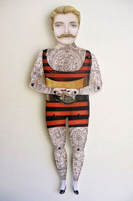 Johnny the Boy Paper Puppet