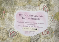 My Favorite Acetate Tattoo Stencils, Vol IV