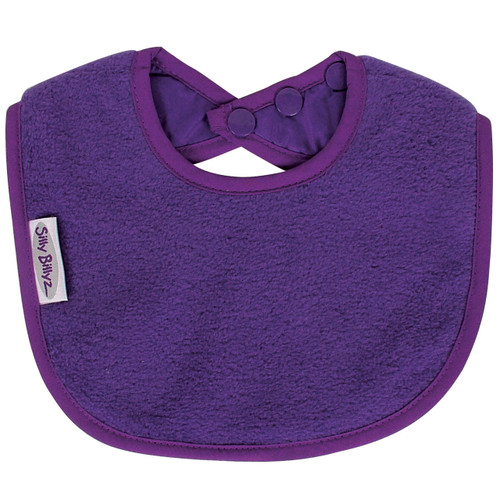 Purple Fleece Biblet
