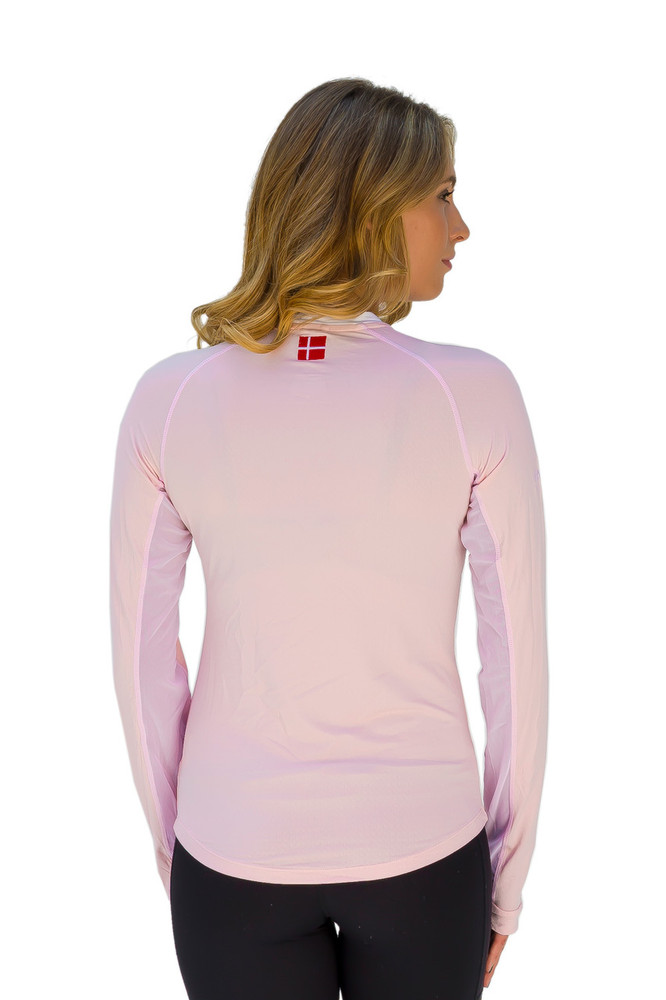 Charlotte Collection Petite Pink with White Trim