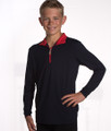 Henrik Kids Collection Navy with Red Trim