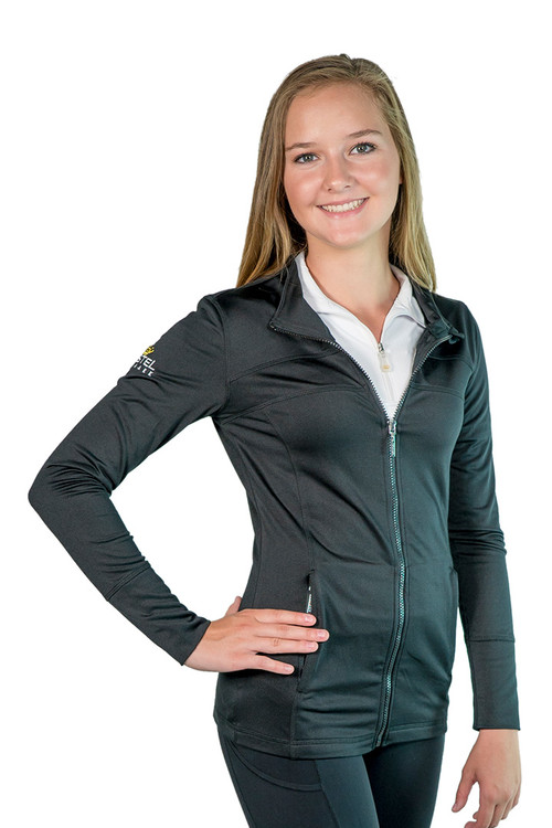 Christine Fitted Jacket Black