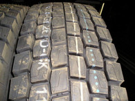 (4-Tires) 11R24.5 New GL268D open shoulder drive tire 14 ply rating Radial 11245