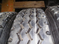 (4-Tires) Retreads 11R24.5 Spread Axle trailer tire recap 11245 11-24.5