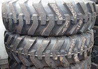 (2-Tires) 15.5-25 Armour Loader Tire 16 PR L2 / G2 Lande 15525