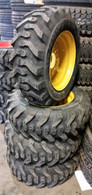 (4-Tires and Wheels) Thomas T-173 T-203 tire size 10-16.5 10 PR mounted 10165