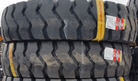 (2-Tires) 14.00-24 tire Rock E3 L3 Loader tire 28 PR Advance 140024