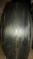 (2-Tires) 14x4-1/2x8 tires Super Solid forklift press-on smooth USA Made 144128