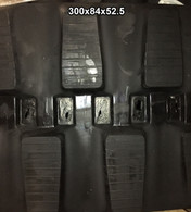 (2-Tracks) JCB Rubber Track 803 PLUS SUPER 8027 (ZTS) 300x84x52.5 30084525