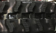 (2-Tracks) IHI Rubber Track IS 07 7F 7FX 7GX 7J 180x37x72 1803772