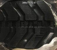 (2-Tracks) New Holland Rubber Track EC 25 25SR EC25 EC25SR 300X74X52.5 30074525
