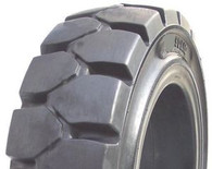 (2-Tires) 27x10-12 tires General Service solid fork-lift tire no flats 271012