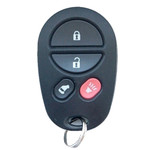 Toyota Sienna Keyless Remote Replacement