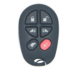 Replacement Keyless Remote fits Toyota Sienna 6 Button