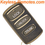 Chrysler & Dodge Keyless Remote Refurbished