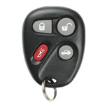 Chevrolet and GMC Keyless Entry Remote Replacement