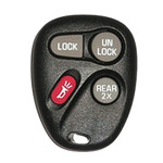 4B GM Keyless Remote - GM3748_B