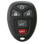 Keyless Entry Key Remote Fob for GM, Chevrolet, and GMC 15913415 with Remote Start and Rear Hatch Button