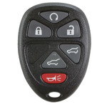 Keyless Entry Key Remote Fob for GM, Chevrolet, and GMC 15913427 with Rear Hatch, Power Liftgate, & Remote Start Buttons