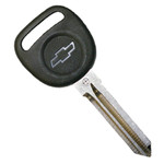 Circle Plus Transponder Chip Key for Chevrolet with logo