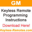 Pontiac Vibe Keyless Entry Transmitter Programming Procedures