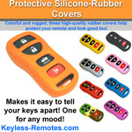 Nissan and Infiniti Keyless Entry Remote Protective Silicone-Rubber Cover 4 Button