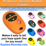 Toyota Keyless Entry Remote Protective Silicone-Rubber Cover 3 Button